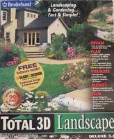 Broderbund Total 3D Landscape Deluxe 3.0