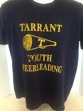 Vintage Tarrant Youth Cheerleading T Shirt Men's L