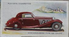 No.30 MERCEDES BENZ TYPE 540 COUPE - MOTOR CARS 2nd SERIES - Player 1937
