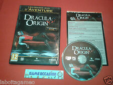 DRACULA ORIGIN PC DVD-ROM FR COMPLET
