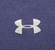 Mens Euc Blue Under Armour Golf Heat Gear Technical Golf Polo Shirt size 3Xl