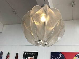 Pendel Leuchte Fadenlampe von Paul Secon für Sompex 70er bis 80er Jahre