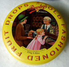 Bewley's Old Fashioned Fruit Drops Metal Tin / Empty