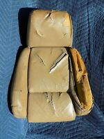 Leather Sport Seat Top Back Cushion 1986 OEM C4 Corvette Tan Beige - ISSUES