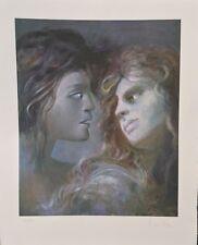 Rare Leonor Fini Signed Silkscreen Print. Vampires. Carmilla. Arches Paper.