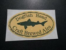 DOGFISH HEAD Brewed Ales tap STICKER decal craft beer dog fish brewing brewery
