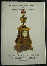 Algernon Asprey Exhibition Fine Antique Clocks 1975 H/B D/J Catalogue
