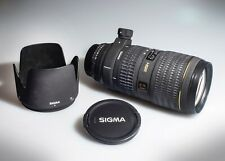 Sigma 70-200mm 1:2.8 EX HSM, Lens For Nikon (Used, Condition: 85% new)