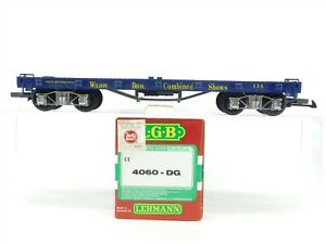 G Scale LGB 4060 Wilson Bros. Combined Shows Flatcar #114