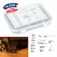 15x Walking Foot Kit   Feet Set  For Brother Singer Presser   Domestic Sewing