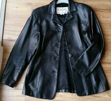 "Michael Hoban ""North Beach Leather"" Femme Veste. taille 12."