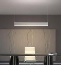 Non Dimmable 36W 1200*50*72mm Modern LED Linear Pendant light +Pendant Kit