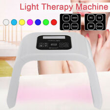 7Colors LED Light PDT Facial Therapy Skin Rejuvenation Anti-aging Beauty