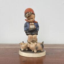"""New ListingHummel """"Fame Boy� #66 Full Bee Stamp 1950's Germany - Damaged"""