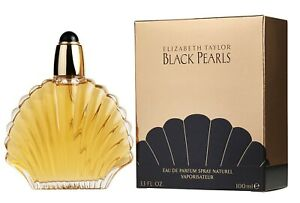 Black Pearls by Elizabeth Taylor 100ml EDP Spray Authentic Perfume for Women