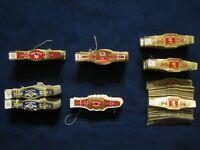 Lot of Vintage Unused Cigar Labels Bands 5 Different Kinds New Old Stock