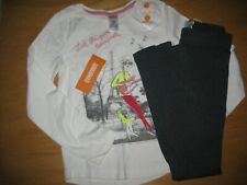 NWT Gymboree Play By Heart Size 7 Set Girl with Guitar Shirt Gray Leggings