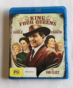 The King And Four Queens - Region B - Blu Ray (Clark Gable, Eleanor Parker)