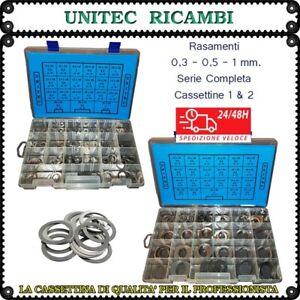 Rasamento rondella di spessoramento in acciaio cassetta 1+2 scatole da 650pz