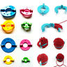 8pcs Wool Knitting Loom Plush Ball Pompom Maker Yarn Weaver Needle Kit Craft Set