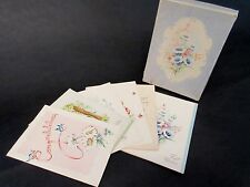 Vintage Mid Century Unused Greeting Cards All Occasion 6 in Box!!