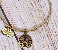 Alex and Ani Path of Life Charm Color Infused Red Gold Bracelet 2015