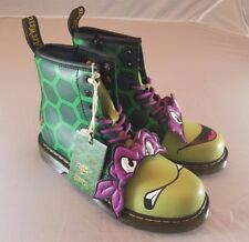 Dr Martens Teenage Mutant Ninja Turtles Youth US Size 3 Donatello Donnie Boots
