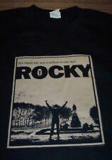 VINTAGE STYLE ROCKY T-Shirt LARGE NEW Boxing Sylvester Stalone