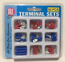 50pcs filo elettrico isolati assortiti TERMINALE All Ride Set accessori per auto