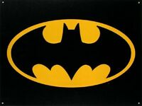 Batman Superhero DC Comic TV Hero Logo Retro Vintage Style  Metal Tin Sign New