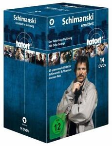 14 DVD-Box * TATORT - SCHIMANSKI ermittelt # NEU OVP &