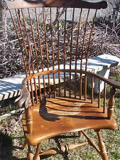 OLD WINDSOR STYLE CHAIR FREDERICK DUCKLOE BROS REPRODUCTION CHAIR