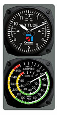 TRINTEC Cessna Altimeter Clock Airspeed Indicator Thermometer Console Set New