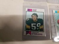 10 1973 Topps Football Cards  Jack Ham RC All cards are Gradable All Centered