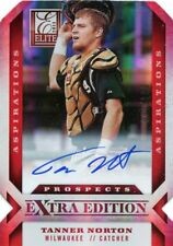 TANNER NORTON 2013 Elite Extra Edition Aspirations Prospects Red Auto #D /100