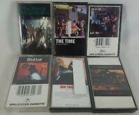 Lot of 6 Mixed Classic Rock Audio Cassette Tapes Full List in Description C Pics