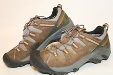 KEEN Mens Size 11.5 45 Waterproof Lace Up Hiking Sneakers Shoes EV 0708