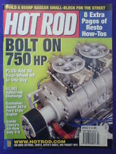 HOT ROD - BOLT ON 750hp - July 2002 vol 55 #7