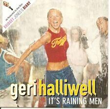 GERI HALLIWELL It's Raining Men CARD CD-s SPICE GIRLS