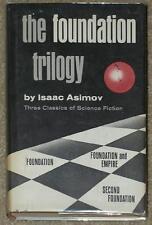ASIMOV ~ FOUNDATION TRILOGY ~ 1951 ~ HC ORIGINAL DJ ~ BCE