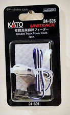 Kato 24828 N Gauge Unitrack Double Track Viaduct Power Cord  2pcs. New