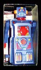 """CLASSIC mini TARGET ROBOT by MASUDAYA Made inJAPAN! TIN 4"""" WIND-UP MINTinART BOX"""
