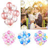 "110/20 pcs 12"" Confetti Latex Filled Helium Balloon Birthday Party Wedding Decor"