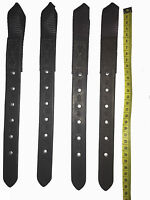 """Details about  /English Walsall Leather Pony Size Black Flash Strap 23"""" NEW"""
