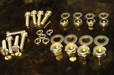 Weber 40 45 DCOE Carb STAINLESS Screw Nut Washers 48 50 Escort Mini Race Rally