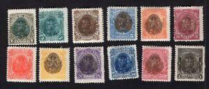 Salvador 1895 12 stamps Mi#90-101 MH CV=5€