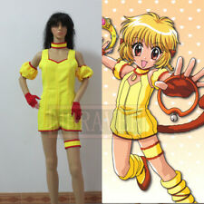 Tokyo Mew Mew Pudding Cosplay Costume Halloween Clothing Anime Woman Dress