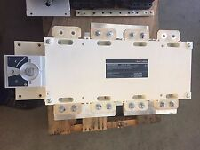 Socomec 2000a 1000vdc 4 Pole 27dc4201 Dc Disconnect Switch Never Used With Bracket
