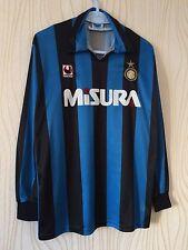 INTER MILAN ITALY 1990 1991 UHLSPORT HOME FOOTBALL SHIRT JERSEY CAMIESTA MAGILA