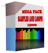 15000 Samples y Loops, Crear Música, Mega Pack, Libre, Ideal para Músicos PRO.